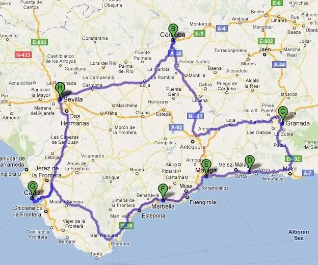 ANDALUSIA TOUR: consigli utili per organizzare al meglio il viaggio