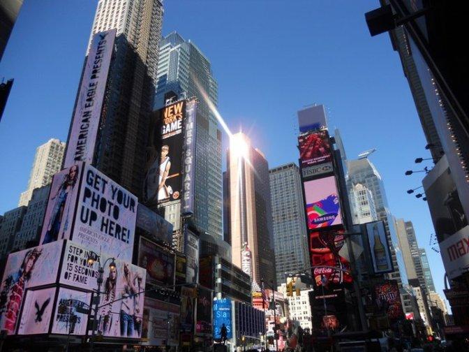 Finally in New York