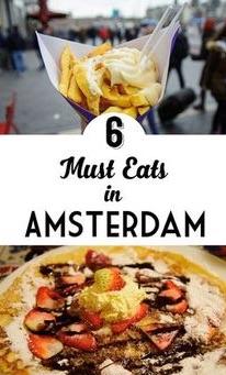 AMSTERDAM: food&travel